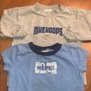 Set of 18M Nike T-shirts Short and Long Sleeve